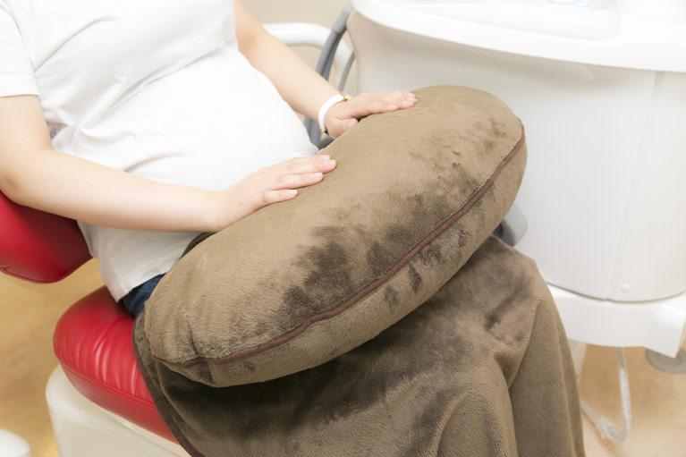 妊婦さん用サポートクッション