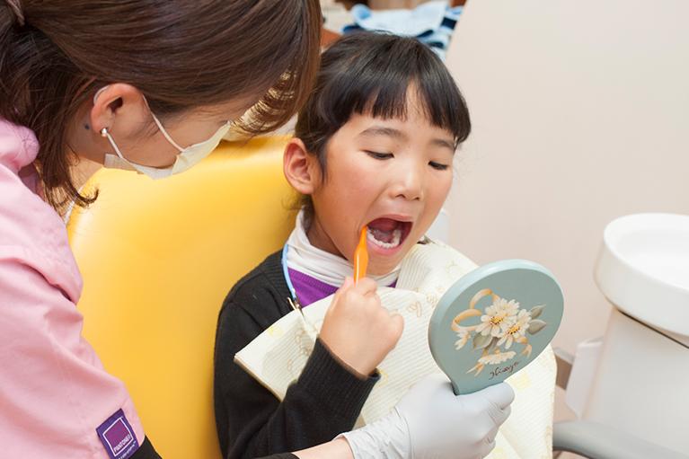 お子さまの歯を守る予防方法