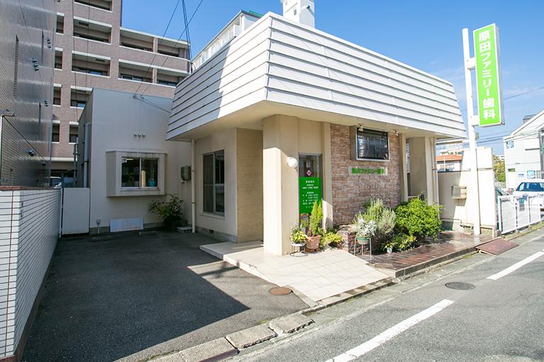 雑餉隈原田ファミリー歯科駐車場1