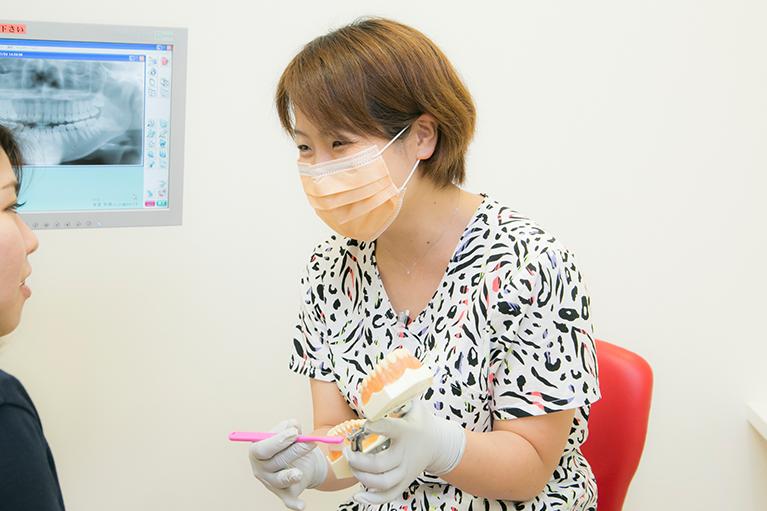 原田ファミリー歯科ブラッシング指導